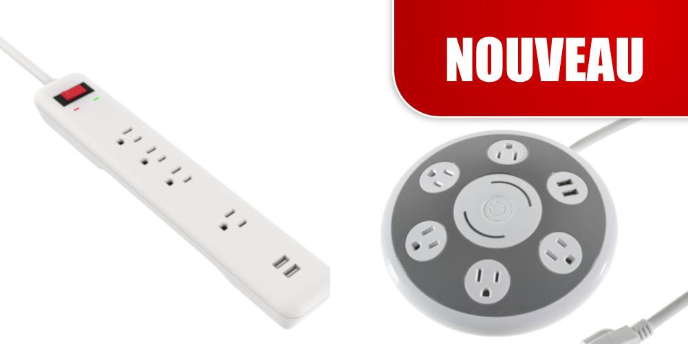 Barre et Centre D'alimentation USB