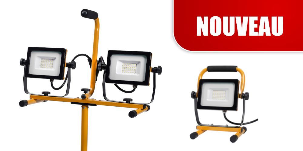 Nouvelles lampes de travail à LED - maintenant plus abordables!