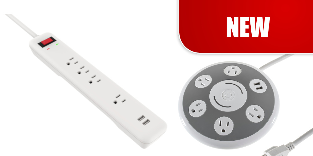 Power Bars & Stations with USBs
